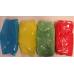 Bio kleuren confetti - 4 holi kleuren set