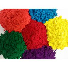 50 kg in 5 kleuren Holi kleurenpoeder Pakket