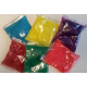 600 zakjes Holi kleurenpoeder, Pakket 600 zakjes, 600x 100 gram