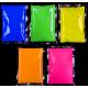 5 zakjes Neon Fluoriserende Holipoeder