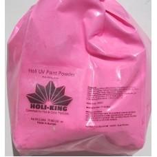 UV verfpoeder - 2.2kg neon roze poederverf